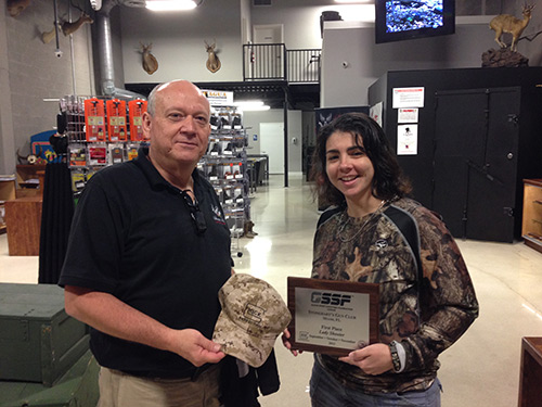 GSSF Top Lady Shooter | Winners for November 2013 | Stone Hart