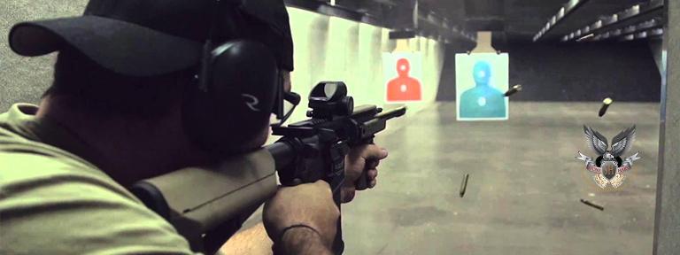 Indoor Shooting Range Packages | Custom Firing Range | 16 Lane Firing Range | Stone Hart Gun Club
