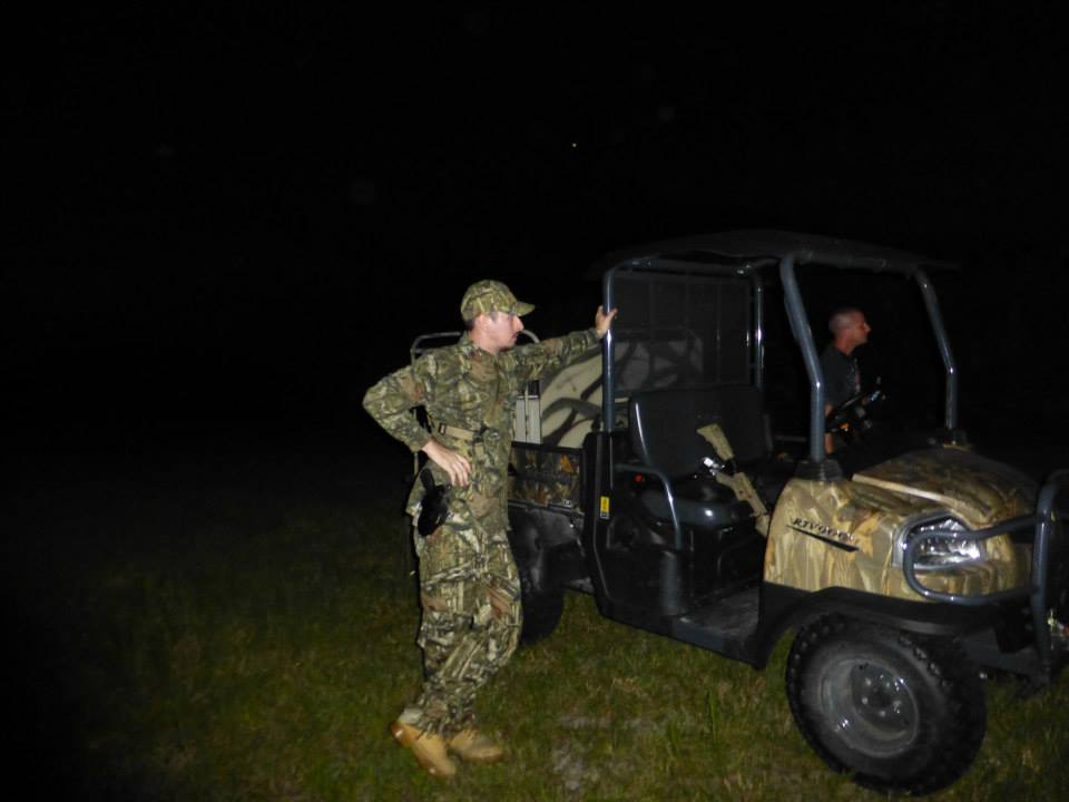 Night Boar Hunt on Jeb's Ranch - June 22, 2013